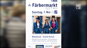 Ankündigung Färbermarkt in Gutau
