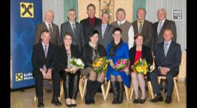 Raiffeisenbank gratuliert langjährigen Mitarbeitern und Geburtstagsjubilaren
