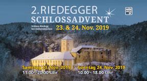 Ankündigung Riedegger Schlossadvent