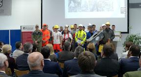 Eröffnung Bauhofhallen in der Berufsschule Freistadt