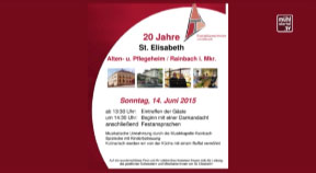 Ankündigung Seniorenheim Rainbach