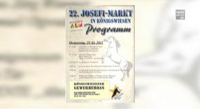Ankündigung: Josefimarkt Königswiesen