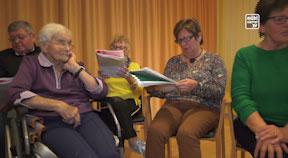 Seniorensingen im Bezirksseniorenheim Lasberg