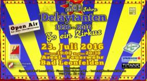 Ankündigung 20 J. Delaytanten in Bad Leonfelden
