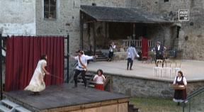Burgfestspiele Reichenau spielt Cyrano de Bergerac