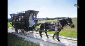 Mühlviertler Pferdeeisenbahn startet ab 6. Mai in die neue Saison