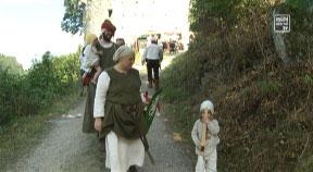 Ritterfest in Waxenberg