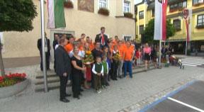 Weltmeisterempfang für Herbert Gabauer