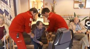 Zu Besuch beim Roten Kreuz St. Georgen an der Gusen