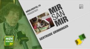 Gertrude Grininger aus Schwarzenberg im Porträt