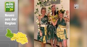 BIO-Garten-Eden – Nachhaltige Verkleidung der Faschingsgruppe Hintenberg