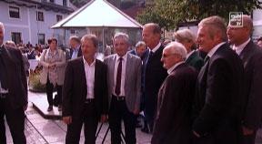 Empfang von Dr. Reinhold Mitterlehner in Helfenberg