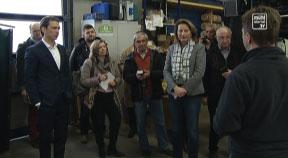 Außenminister Sebastian Kurz zu Gast bei Kreisel Electric in Freistadt