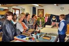 Zu Besuch in der Blaudruckerei Wagner in Bad Leonfelden