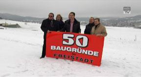 50 neue Bauparzellen für Freistadt