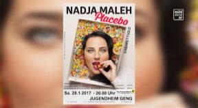Ankündigung Kabarett Nadja Maleh in Untergeng am 28. Jänner 2017