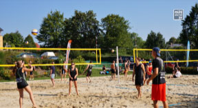 Beachvolleyball-Landesfinale der JVP in Oberneukirchen