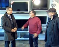 Zu Besuch bei der Firma Loxone, Elektro Krenn und in der Gemeinde Kollerschlag