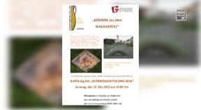 Ankündigung Eröffnung Sonderausstellung im Hafnerhaus Leopoldschlag