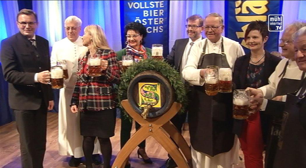 Bockbieranstich Stift Schlägl 2018