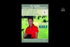 Ankündigung Golf-Turnier im Golfclub Sterngartl