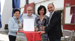 Wirtschaftsmedaille der WKOÖ an Herbert Gossenreiter verliehen