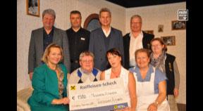 Spendenübergabe Theatergruppe Altenberg an Musikverein