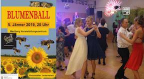 Ankündigung Blumenball in Wartberg ob der Aist