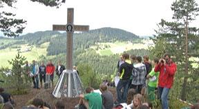 Segnung Gipfelkreuz in St. Leonhard bei Freistadt