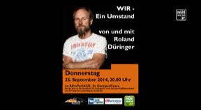 Ankündigung Roland Düringer in St. Georgen an der Gusen