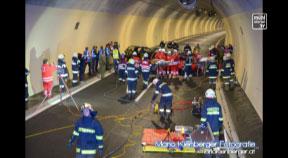 """S 10 Tunnel Manzenreith hat """"Feuertaufe"""" bestanden"""