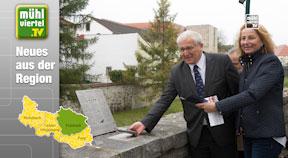 Kontrollpunkt für Smartphones in Freistadt