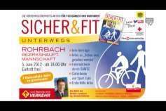 """Ankündigung """"Sicher und Fit unterwegs"""" in Rohrbach"""