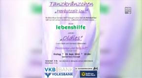 Ankündigung Tanzkränzchen der Lebenshilfe Freistadt