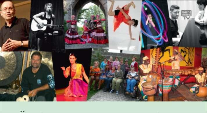 Ankündigung Künstler für die Lebenshilfe – Tanz, Musik, Kabarett