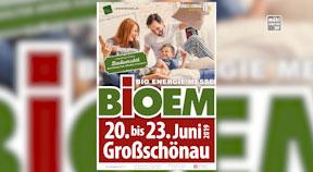 Ankündigung BIOEM - Messe in Großschönau 20.-23.6.2019