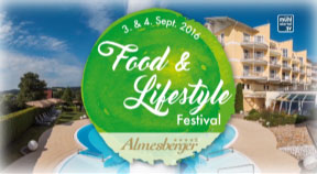 Ankündigung Food & Lifestyle Festival im Hotel Almesberger
