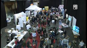 Berufsinfomesse in der Messehalle Freistadt