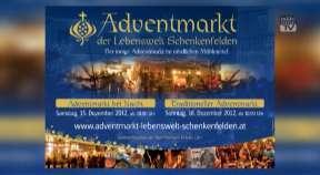 Ankündigung: Adventmarkt der Lebenswelt Schenkenfelden