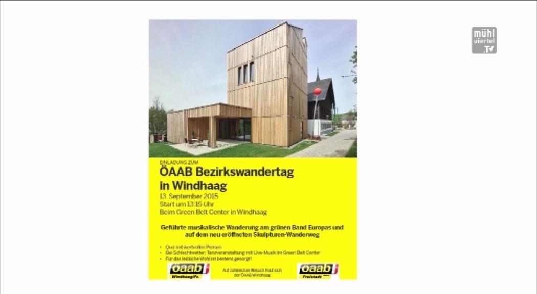 Ankündigung Wandertag ÖAAB Bezirkswandertag in Windhaag bei Freistadt