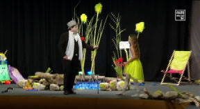 """Theater """"Ente, Tod und Tulpe"""" in Kirchschlag"""