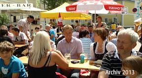 Archiv 2013: Marktfest und Weltrekordversuch in Vorderweißenbach