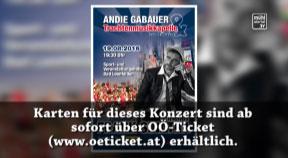 Ankündigung Frank Sinatra & friends am 19.8. in Bad Leonfelden – Andie Gabauer u. Trachtenmusikkapelle B.L.