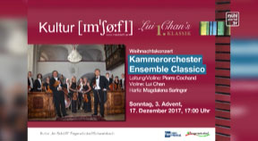 Ankündigung Weihnachtskonzert Ensemble Classico im Schöffl am 17.12.2017 um 17:00