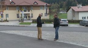 Straßenbau oder Sanierung mit Bernhard Moser