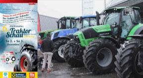 Ankündigung Traktorschau am 2. und 3.12.2017 in Freistdadt