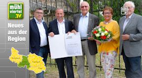 OÖVP hat Friedrich Gabriel mit dem Goldenen Ehrenzeichen ausgezeichnet