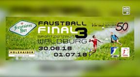Ankündigung Faustball WM in Waldburg