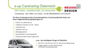 Ankündigung Carsharing Bad Zell