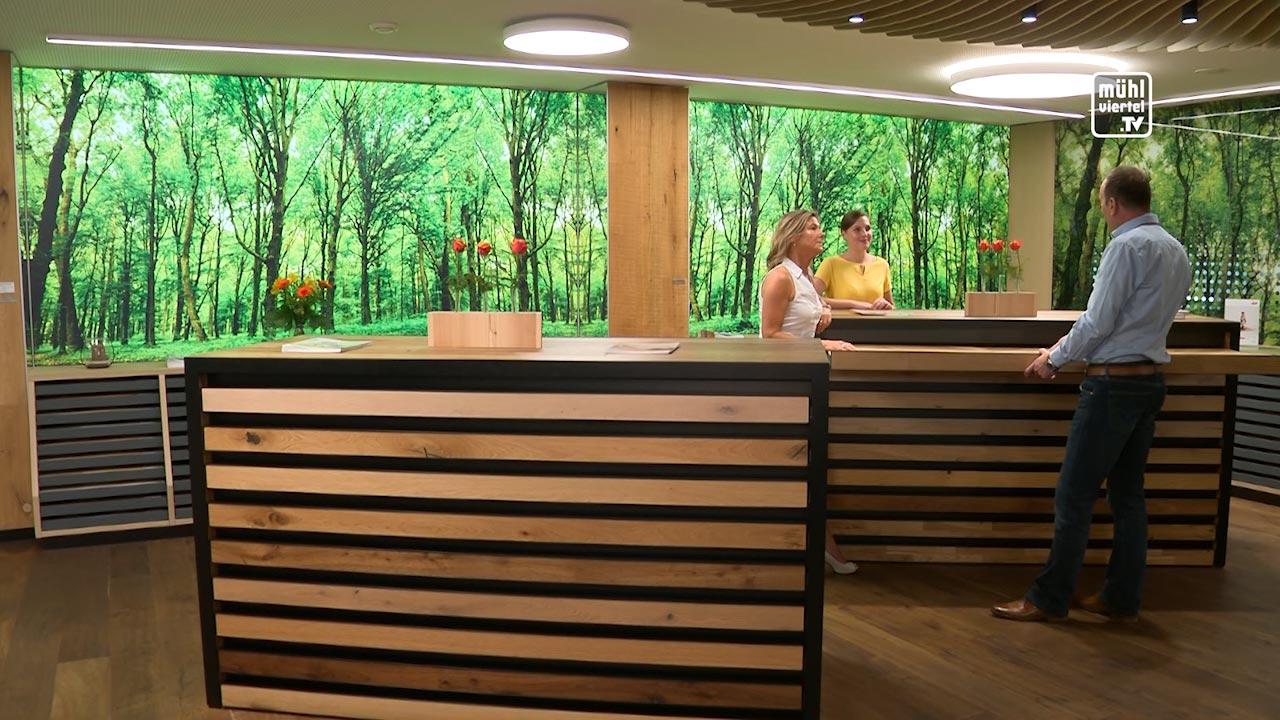 WKOÖ Tipp Holzhandel: Der Boden macht den Raum